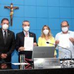 ALEMS recebe projeto que reduz ICMS das contas de energia na bandeira vermelha