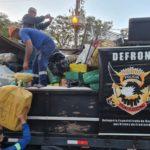 Polícia apreende carreta com mais de cinco toneladas de drogas e prende grupo