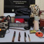 Após furto a residência, policiais detém suspeitos e recuperam objetos levados