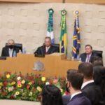 Vice-presidente da ALEMS prestigia posse de 14 novos juízes substitutos