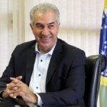 Reinaldo Azambuja leva projeto que reduz ICMS da conta de luz à Assembleia