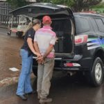 Polícia prende suspeito de ameaçar e incendiar casa da ex