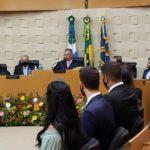 Procurador-Geral de Justiça prestigia posse de 14 novos Juízes Substitutos de MS